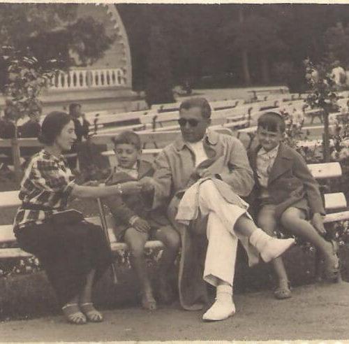 Chłopcy to Stanisław Blichiewicz i Witotd Budzyński synowie właścicieli pensjonatu