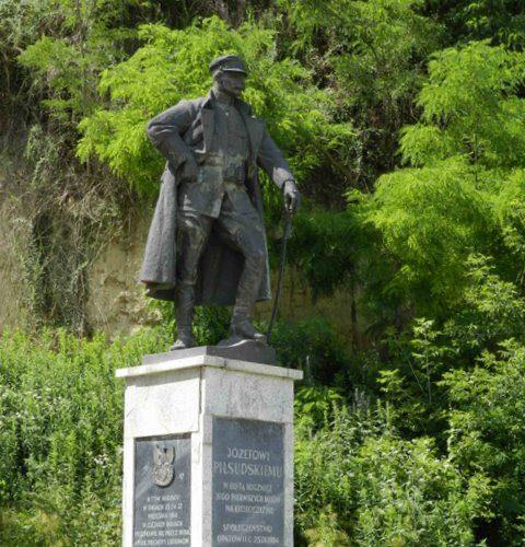 Pomnik Józefa Piłsudskiego w Opatowcu