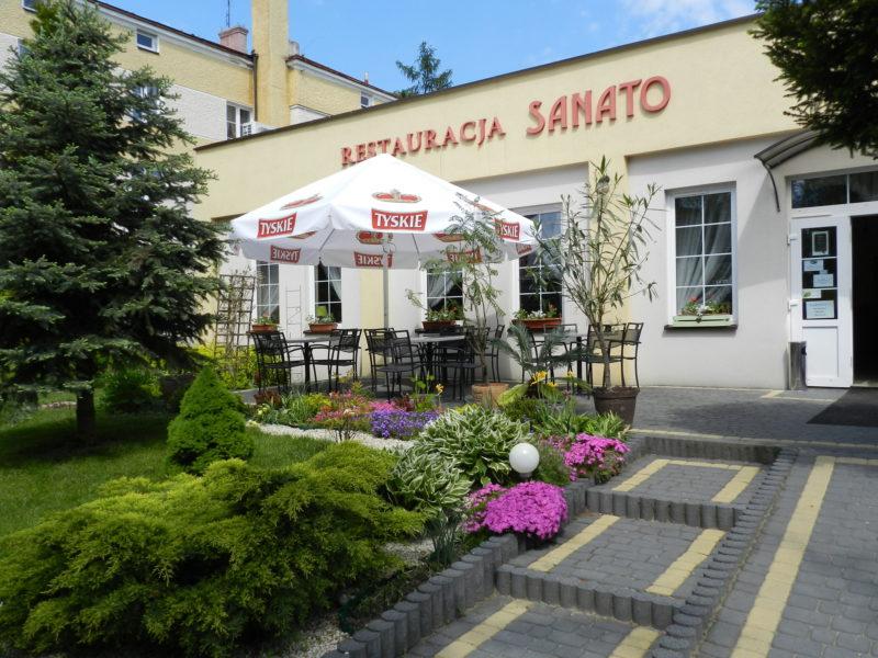 Restauracja Sanato - taras