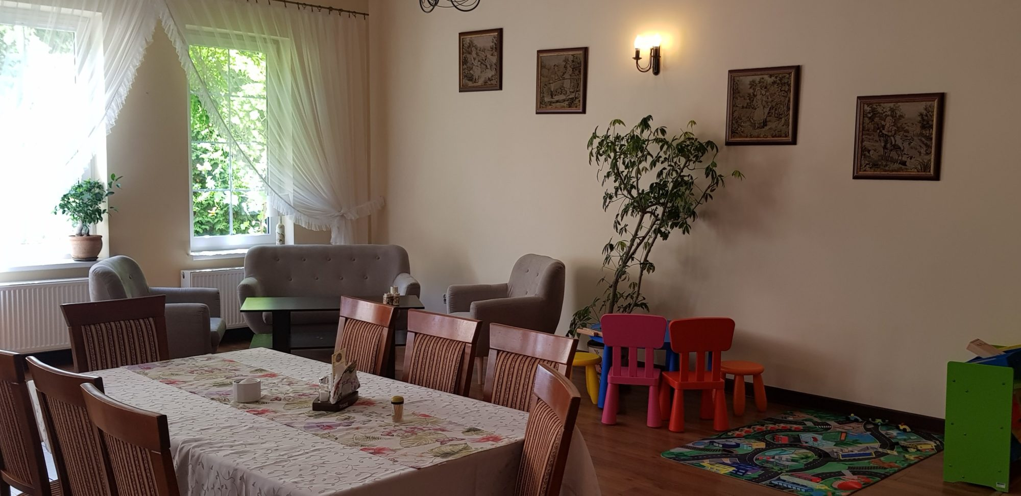 Restauracja Sanato - nasza sala